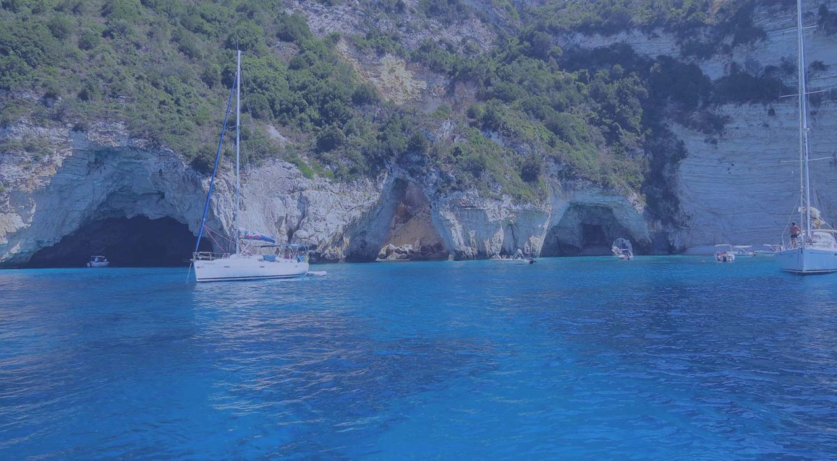 ionian coast travel sivota beach blue caves paxos island opacity