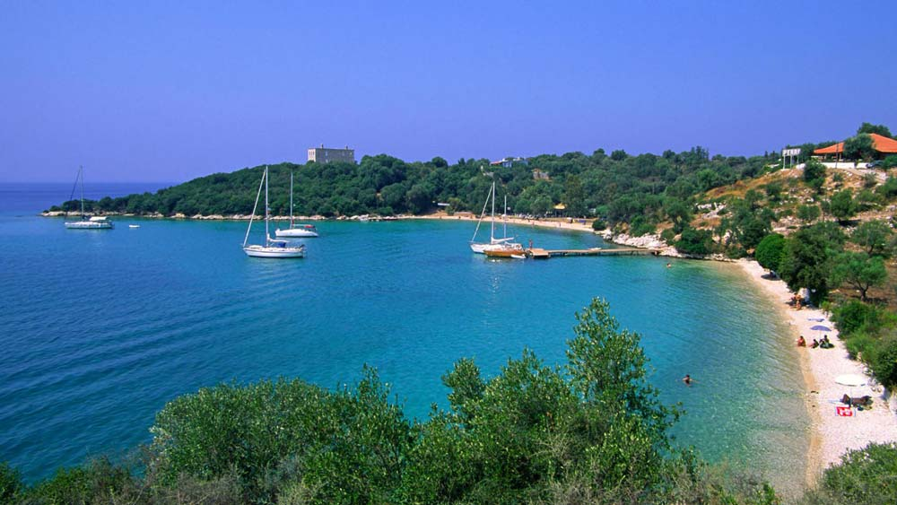 ionian coast travel sivota rental zeri beach